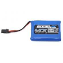 1S LiPo Transmitter Battery Pack (3.7V/3000mAh) (Sanwa MT-44)