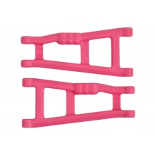 Rear A-Arms, Pink, for Traxxas Electris Rustler and Stampede