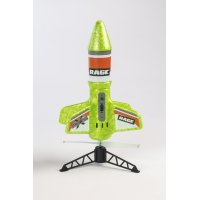 Spinner Missile X - Green Electric Free-Flight Rocket with Parachute