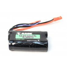 Rage RC 7.4V 2S 850mAh Battery w/ JST Connector