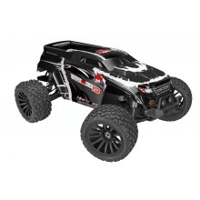 Redcat Racing Terremoto-10 V2 1/10 Scale Brushless 4x4 RTR Truck, Black