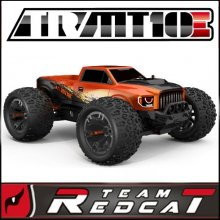 Team Redcat TR-MT10E 1/10 Scale Brushless Truck - Orange