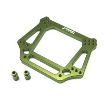 6mm HD Front Shock Tower, Pede Rustler Bandit Slash, Green