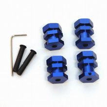 17mm Hex Conversion Kit, Blue, Slash/Rustler/Bandit/etc