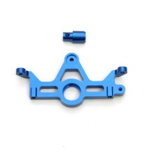 HD ALUM MOTOR MOUNT FOR SLASH 4X4 (BLUE)