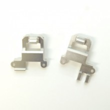 Aluminum Heavy Duty Front Shock Towers/Panhard Mount, TRX-4 (1 pair) Silver