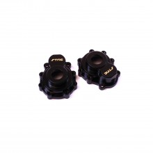 CNC Machine Aluminum Portal Drive Outer Housing-Front or Rear for Traxxas TRX-4, Brass