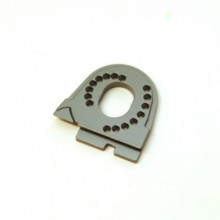 CNC Machined Aluminum Motor Mount for Traxxas TRX-4,GunMetal
