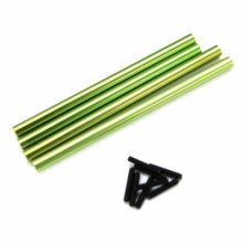 Alloy 311-313mm Front & Rear Lower Links, SCX10, Green