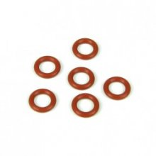 Tekno Differential O-Rings, Red- 6pcs