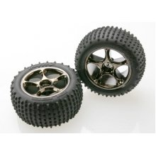 """Alias 2.2"""" Tires/ Tracer 2.2"""" Wheels Mounted, Bandit, Med. Compound"""