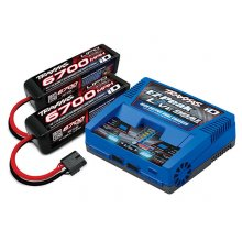 Traxxas Dual Battery/Dual Charger Completer Pack - 4s