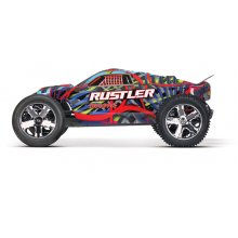 Rustler 2wd Staduim Truck, 2.4/battery/charger, Hawaiian.