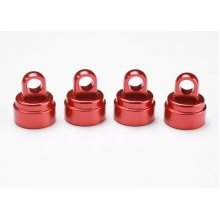 Traxxas Aluminum Shock Caps, Red, Fits Ultra Shocks