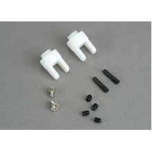 Differential Output Yokes, White With Screws