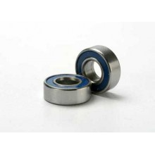 5x10mm Ball Bearings, Blue Seal, 1 pair