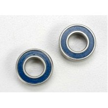 Ball Bearings, Blue Rubber Sealed (6x12x4mm) (2)