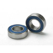 Ball Bearings, Blue Rubber Sealed (8x16x5mm) (2)