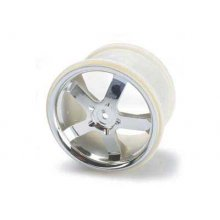 Hurricane Wheels Chrome, 1 pr.
