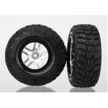 Traxxas SCT Tire/Wheel Assembled 2/4WD Rear