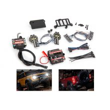 Pro Scale® LED light set, Ford Bronco (2021), complete with power module (includes headlights, tail lights, & distribution block) (fits #9211 body)