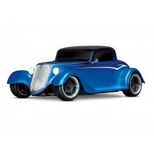 1/10 scale Factory Five replica Hot Rod with 1933 Coupe, BLUE