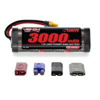 Venom  DRIVE 8.4V 3000mAh NiMH Hump Pack Battery with UNI 2.0 Plug