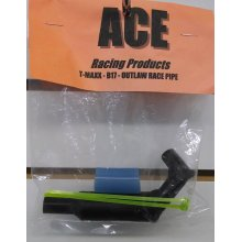 ACEB17B  Outlaw Race Pipe, Orig T-Maxx, BLACK