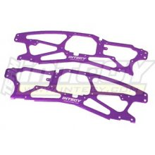 INTT7004P  Alloy Chassis Plate, Purple, Savage 21