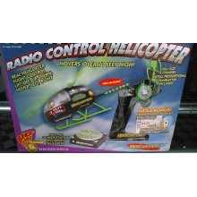 MTC8210  Helicopper Black with Green rotors