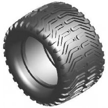 "Meathook Monster Tires/wh, 2 pair, .5"" offset"