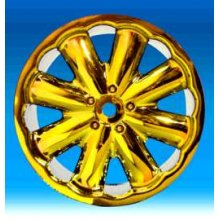 IMX7080   Jella Gold Chrome Rims, Fits Maxx/Savage