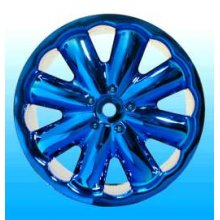 Jella Blue Chrome Rims, Fits Orig. Maxx/Savage