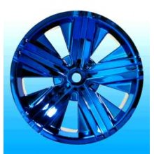 Fellon Blue Chrome Rims, Fits Maxx/Savage